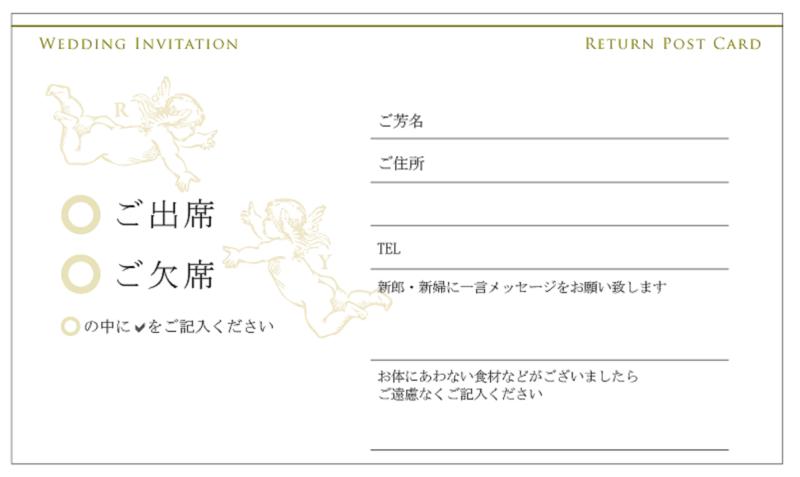 結婚式の招待状返信】アレルギーがある方・ない方の記入例を紹介
