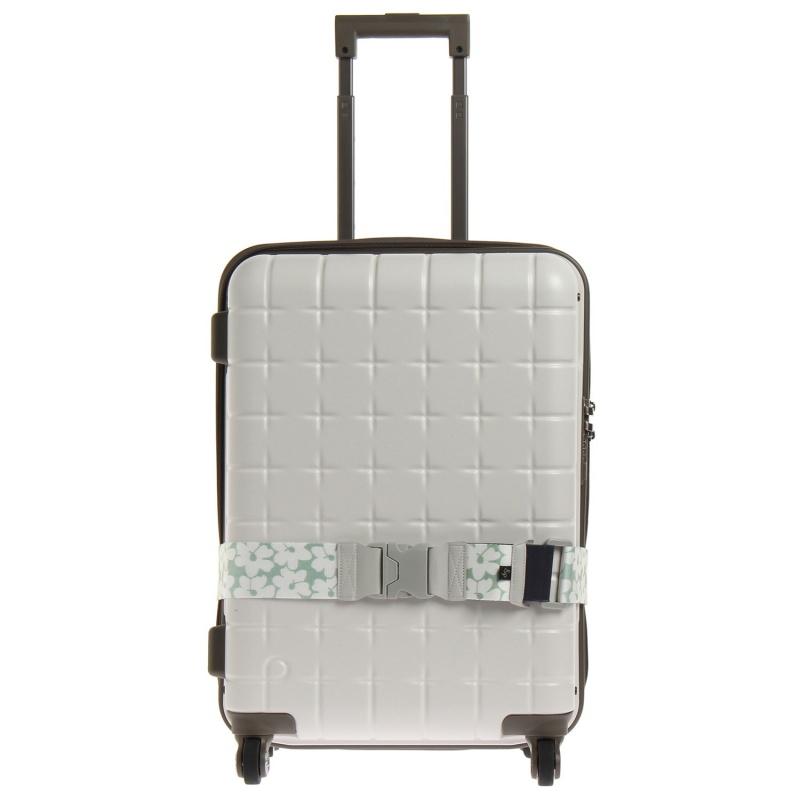スーツケースベルト花柄