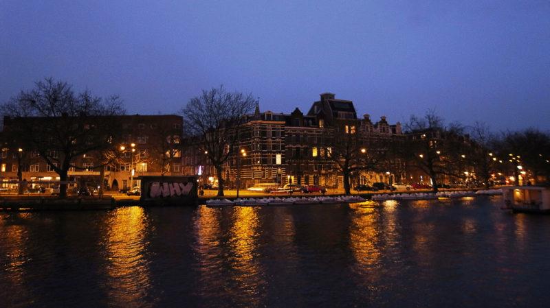 アムステルダム夜景